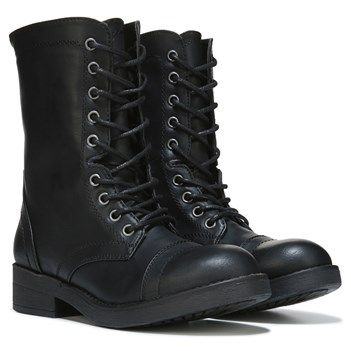 Madden Girl Women's Mavin Combat Boot at Famous Footwear