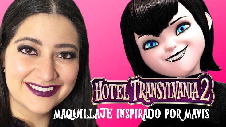 """#HotelTransylvania2 estará en el cine: septiembre 25, 2015. Aquí te muestro una manera rápida y fácil de hacerte el maquillaje basado en el personaje #Mavis. Esto puede ser un """"look"""" para cualquier ocasion. ¡Disfruta!  #Vampiro #Vampira #Pelicula #SelenaGomez #Dracula #Animación #MAC #CarineRoitfeld #ULTA #CoverGirl #NYX #Cosmeticos #Negro #Oscuro"""