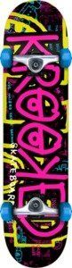 """Krooked Dudelz Complete Skateboard - 7.5"""" x 29"""" by Krooked. $93.98. Deck size: 7.5"""" x 29"""". This Krooked skateboard comes with Krooked trucks & Krooked wheels. No assembly required."""