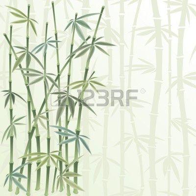 floral frame in stile cinese Archivio Fotografico