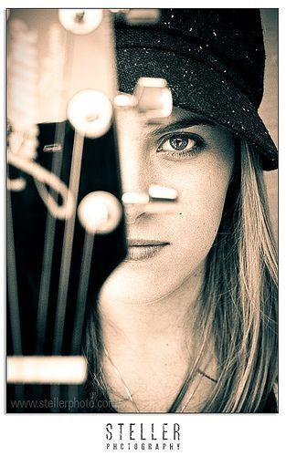 Carrie (Senior 2008) Guitar | TONS more on my blog! www.stel… | Flickr