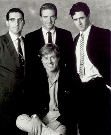Quiz Show (1994). Starring: John Turturro, Rob Morrow,  Ralph Fiennes. Directed and produced by Robert Redford.