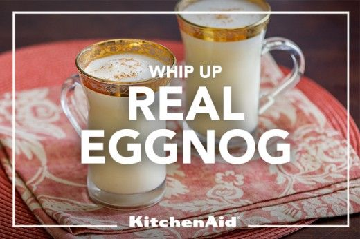Rich And Frothy Holiday Eggnog (with An Electric Mixer Or ...