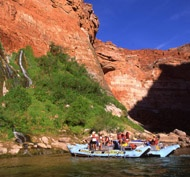 White water rafting in the Grand Canyon