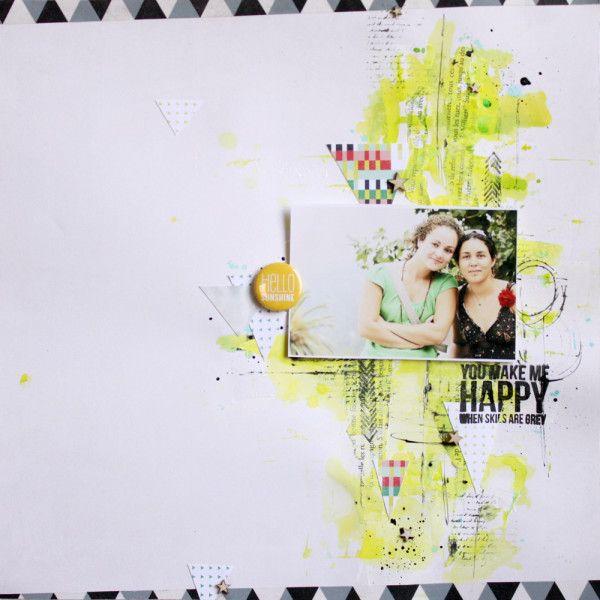Bonjour! J'espère que vous allez bien en ce début décembre. Je vous montre une page faite selon un sketch de Jasmina pour Just create and scrap, une ptite merveille le sketch!! J'avais envie de couleurs flashy et on peut dire que j'y suis pas allé de...