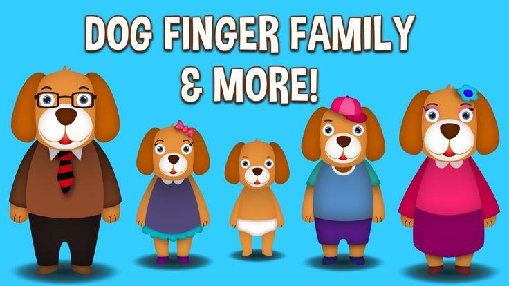 Dog Finger Family Collection   Top 10 Finger Family Collection   Finger Family Songs