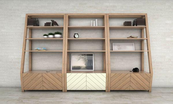 Bookcase on Behance