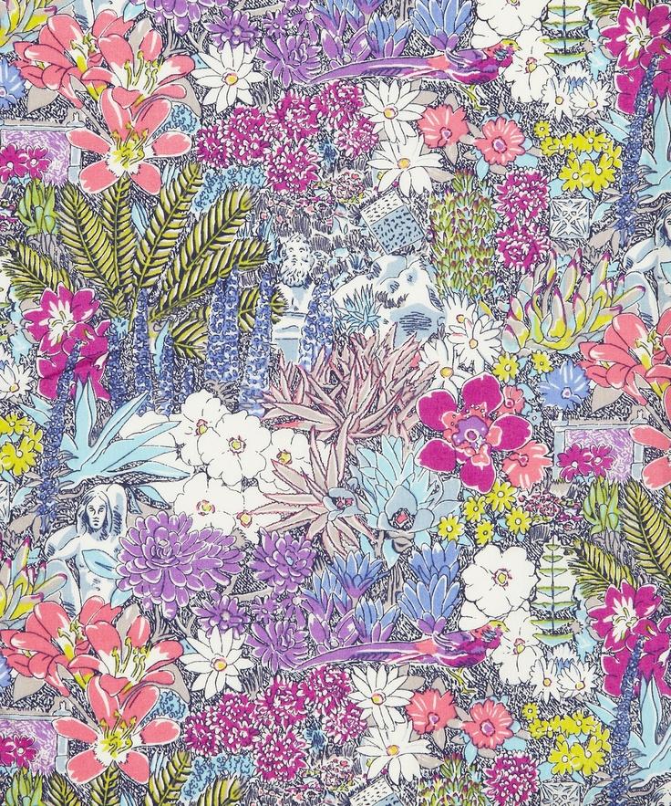 Archipelago C Tana Lawn, Liberty Art Fabrics. Shop more from the Liberty Art Fabrics collection online at Liberty.co.uk £22p/m