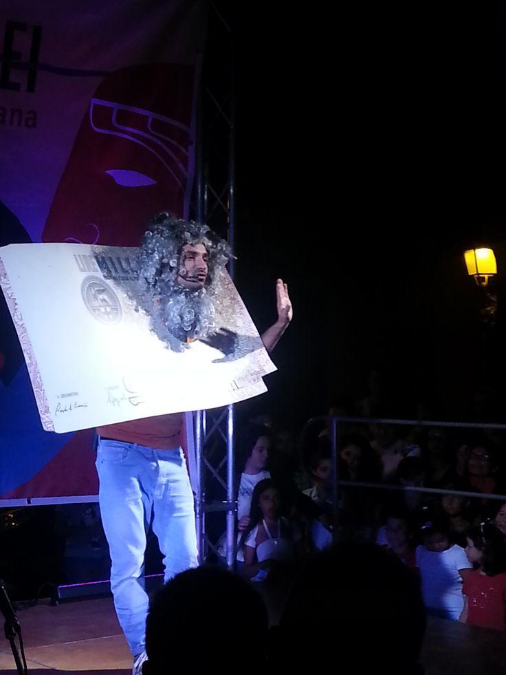 Mariano Bruno of Made in Sud at the #suisentierideglidei festival - #Agerola