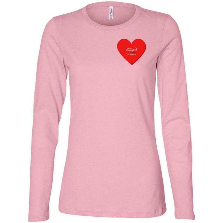 Stacy's Mom: Relaxed Long Sleeve Tee