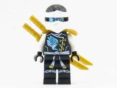 LEGO Ninjago Skybound Zane White Ninja Robot Minifigure Sky Pirate NEW 2016