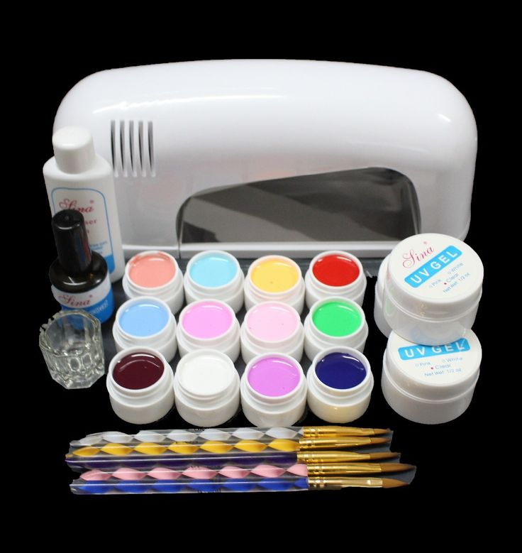 Новые набор для шеллака Pro 36 Вт уф гель белого огня и 36 цвет уф гель ногтей инструменты польский комплект комплект MS 111 бесплатная доставка купить на AliExpress