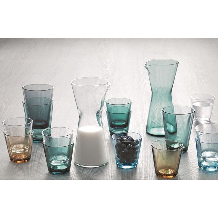 Iittala Kartio Glas 400 ml Set van 2 - Lichtblauw - iittala