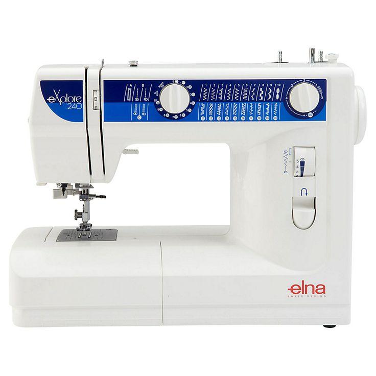 Elna electronic sewing machine
