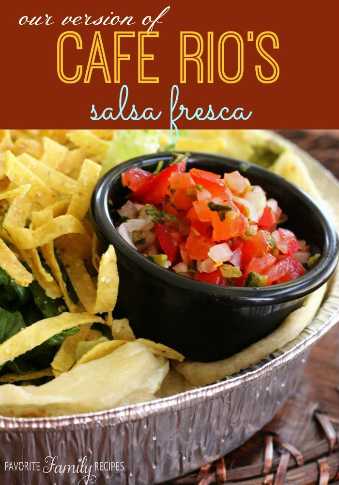 This is definitely my go-to pico de gallo recipe. It has never failed me. It always comes out perfect and I LOVE how fresh it is! You will love this copycat Cafe Rio recipe.
