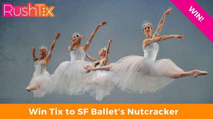 Who wants to go with me?  Win Tix to SF Ballet's Nutcracker