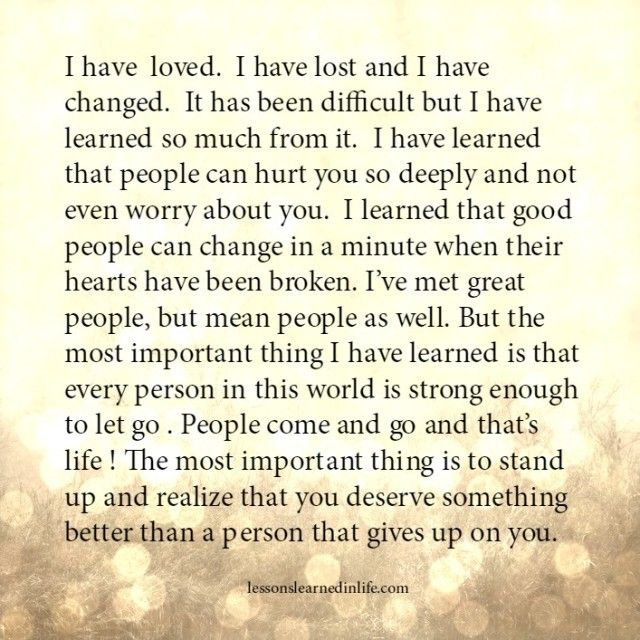 what i have learned about me This was forwarded to me from my dear friend wei bai from siebel: on a positive note, i've learned that no matter what happens or how bad it seems.