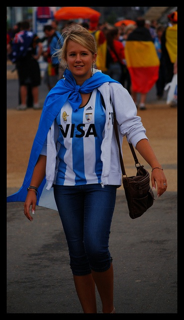 Argentina Fan... Love for her team  #Olympic Inspiration