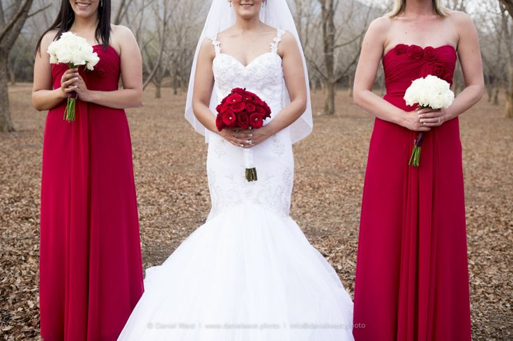 Red and White looks amazing! Rion and Veronica Wedding   Green Leaves Country Lodge and Venue