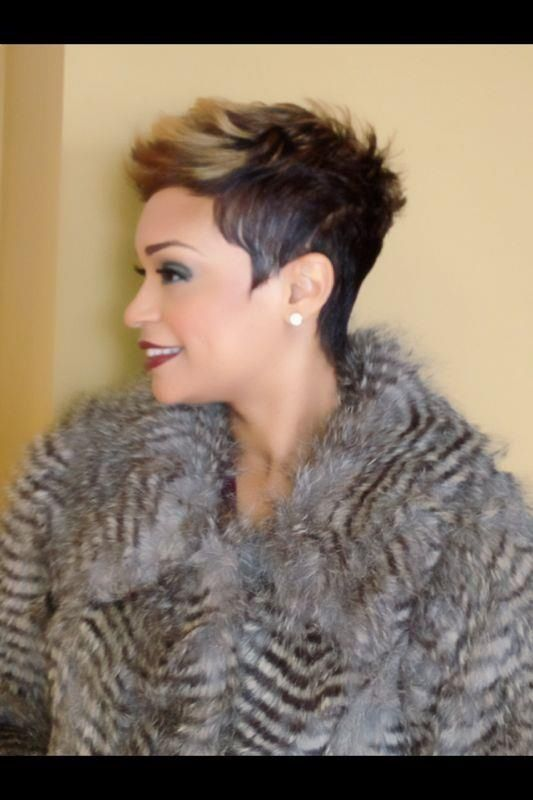 awesome Coupe courte pour femme : Great cut...
