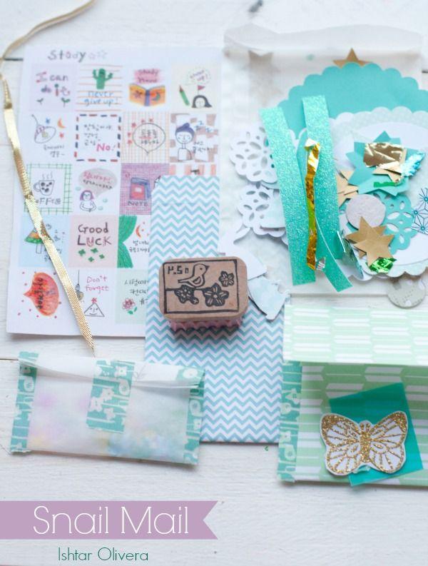 Snail Mail for Montse ♥ Correo para Montse | Ishtar Olivera