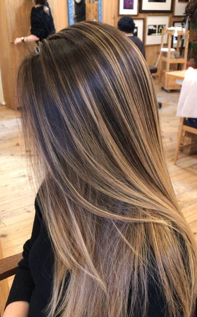 Pin By Di Bautista On Make Me Up Boliage Hair Hair Highlights Hair Inspiration Color