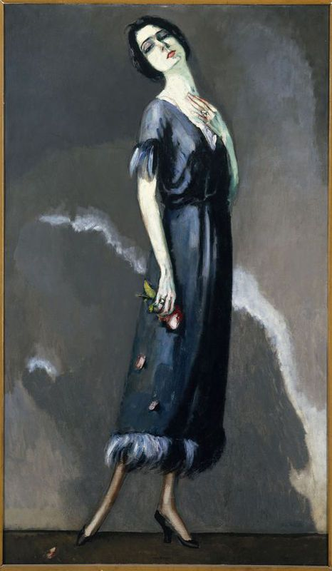 Kees van Dongen - Portrait de Madame Maria Ricotti dans L'Enjôleuse, 1921
