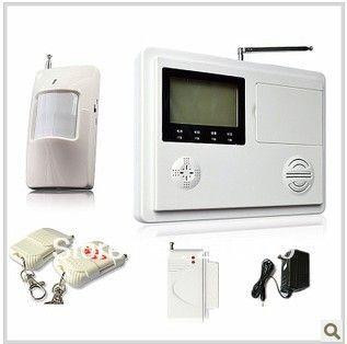 Умные окна и двери ЖК сигнализации дома сигнализация магазин грабитель домашней беспроводной передачи голоса
