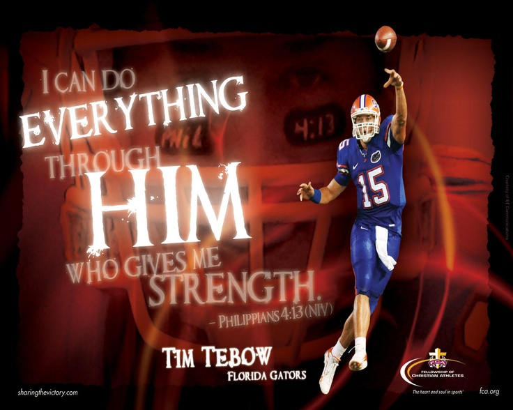 Tim Tebow Inspirational Quotes: Your Life, A Guy Who