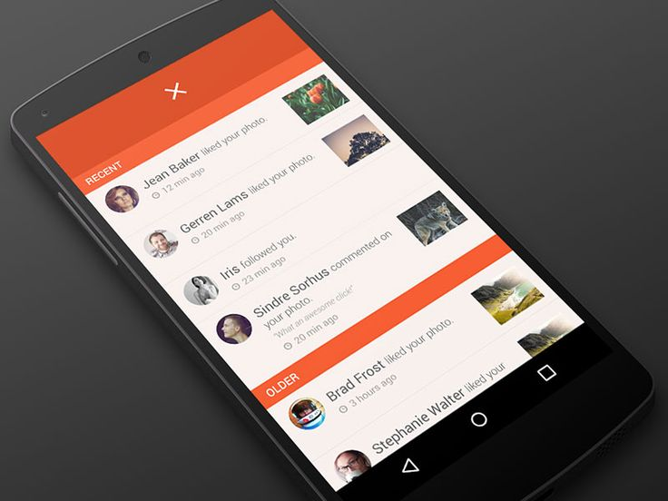 Changes in Android Notification