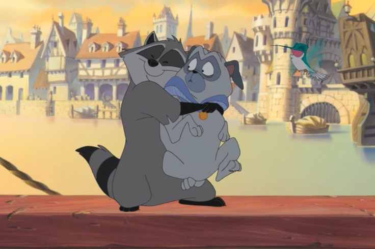 Meeko And Percy Finally Getting Along Pocahontas 2 The New