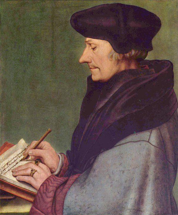 """EL filósofo, teólogo y humanista, autor de """"Elogio de la locura"""", Erasmo de Rotterdam, nació el 27/10/1466: http://www.muyinteresante.es/cultura/arte-cultura/articulo/5-frases-de-erasmo-de-rotterdam …"""