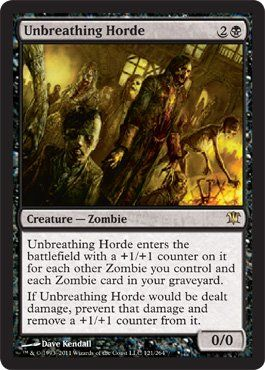 Magic: the Gathering - Unbreathing Horde - Innistrad $1.34