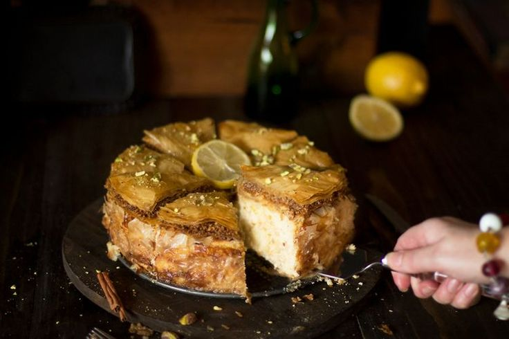 Baklava Cheesecake Fusion recipe on Food52