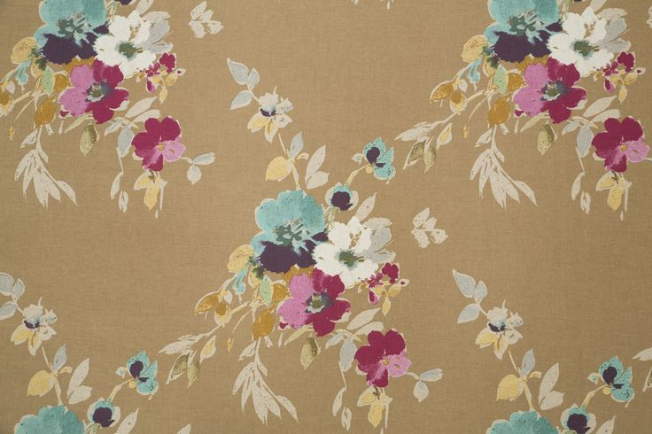 Folklore print in Gold colourway, from Svenmill's Folklore Collection