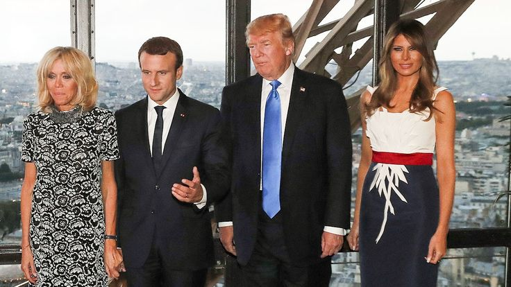 9:10 AM PDT 7/14/2017  by   Sam Reed       Herve Pierre opened up about dressing the First Lady for her visit to his native country.  As the Trumps' Parisian excursion continues, so does Melania's French fashion parade.  Following a boat ride on the Seine on Thursday, the... #Custom #Designing #Melania #Paris #Stylist #Talks #Trumps