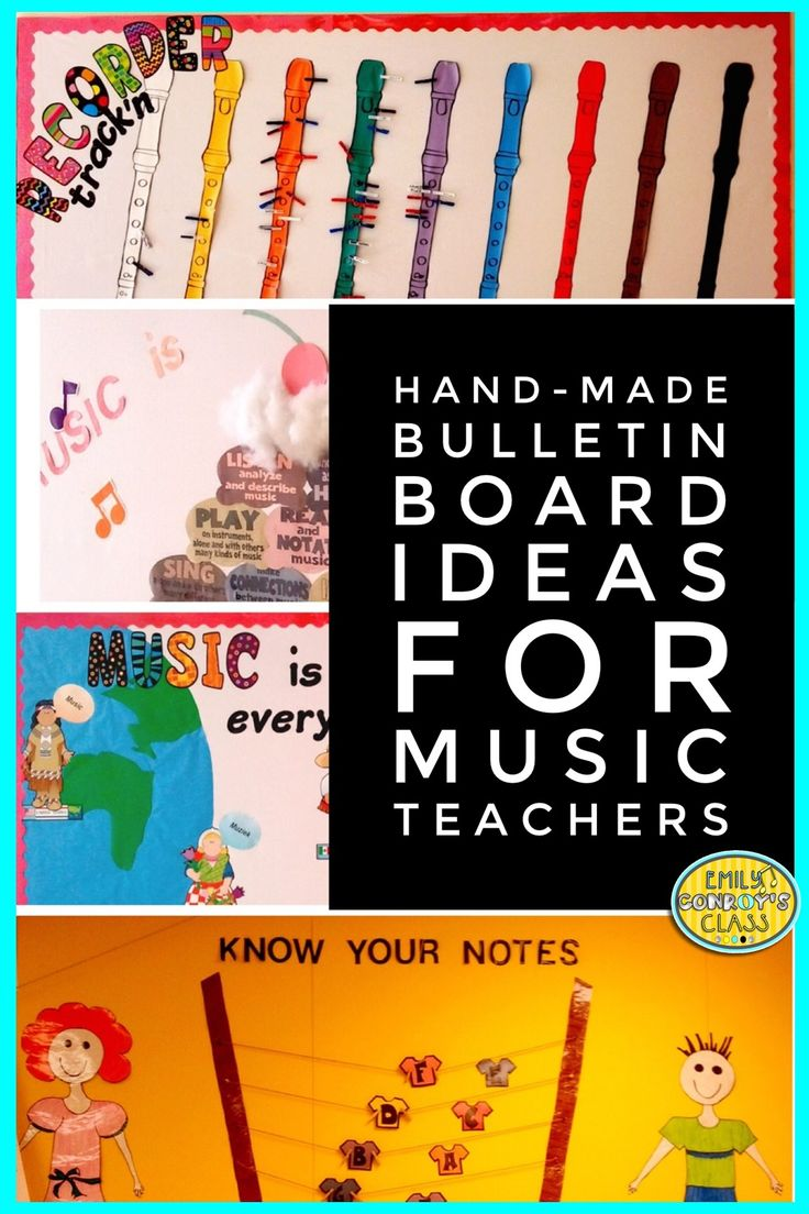 9789 best images about music education on pinterest for Bulletin board organization