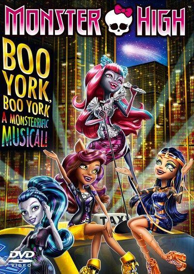Monster High: Boo York! Boo York! [DVD]Got lenessa some monster high dvds