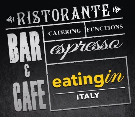 eating in italy ristorante bar and cafe