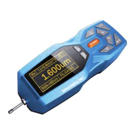 Rugosimetro  Display OLED 128x64 con indicazioni di valori, menù e stato batteria. Funzione di spegnimento automatico. Guscio in plastica antiurto.