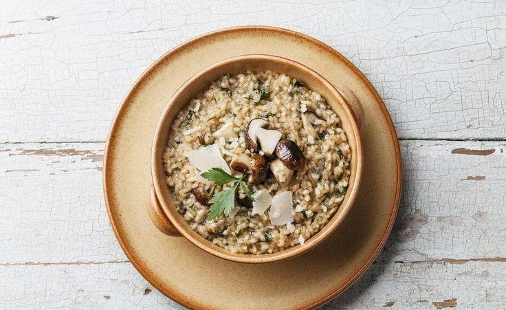 Low-Carb und super-lecker! Pastinaken-Risotto ohne Reis