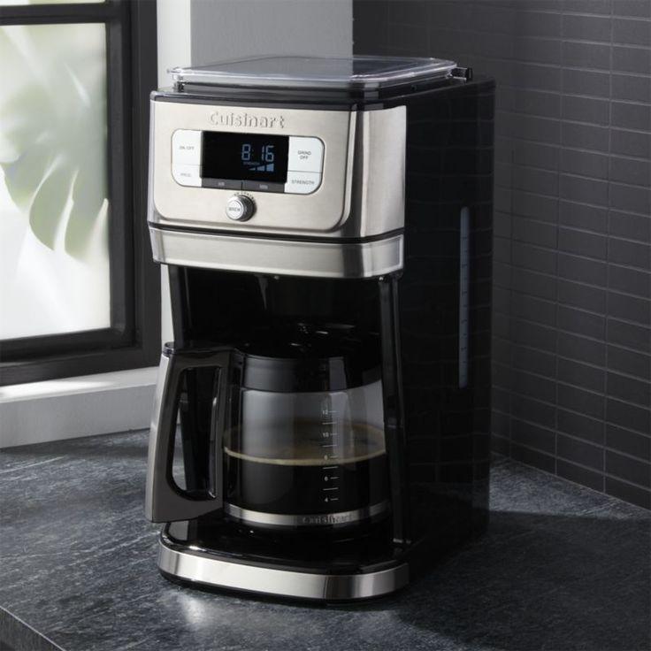 Cuisinart burr grind brew 12 cup coffeemaker reviews