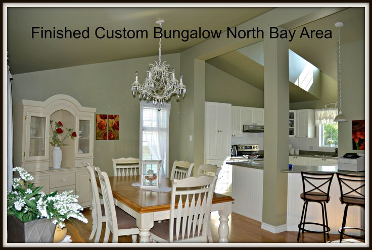 Bay Builders: beautiful completed interior of a modular home