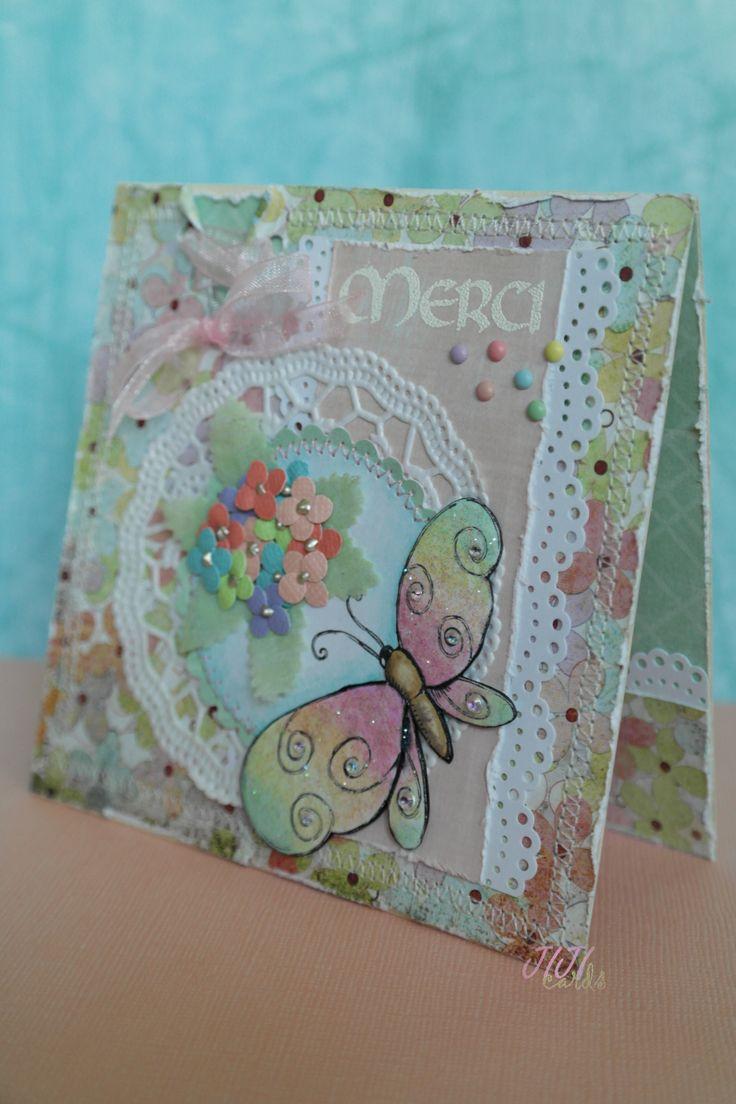 JIJI Cards - Pastel Merci