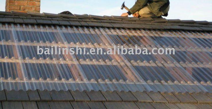 100% lexan bayer matériaux de toiture en tôle ondulée