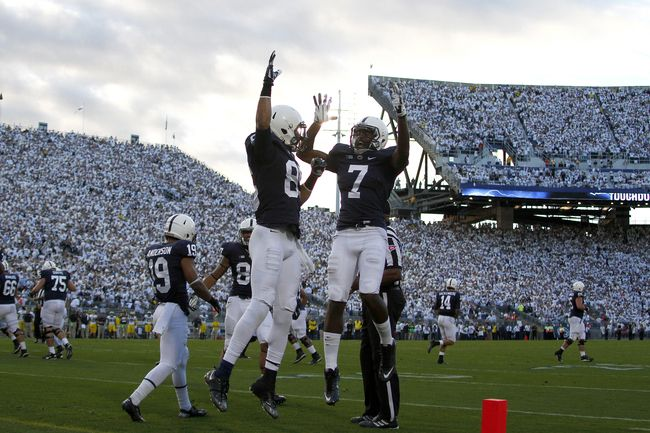 Penn State's two-headed monster has accounted for 423 yards in the last two games and will now face the 112th-ranked rushing defense in the country. Look for one or both of them to have big days.