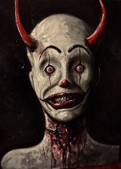 1000+ ideas about Clown Tattoo on Pinterest   Evil Clown Tattoos ...
