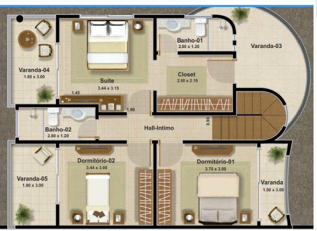 25 melhores ideias sobre plantas de casas duplex no for Tecnicas de coccion modernas