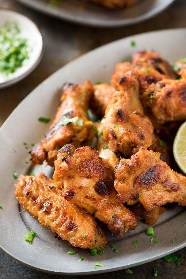 Spicy Lemongrass Wings - Perfectly spicy, savory, sweet and filled with Southeast Asian flavors. Marinated in a flavor packed paste marinade, they are so addictive.
