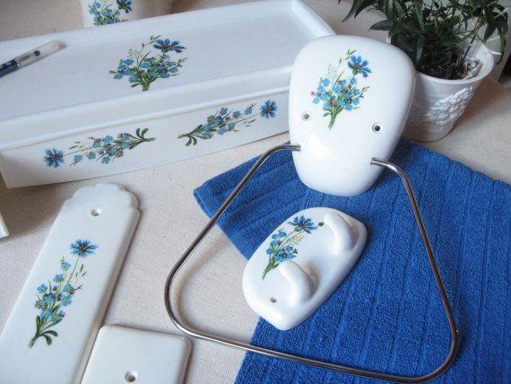 1000 id es sur le th me crochets de salle de bains sur for Accessoires salle de bain theme mer